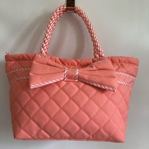 Hand made from Thailand Naraya cotton quilted Tote